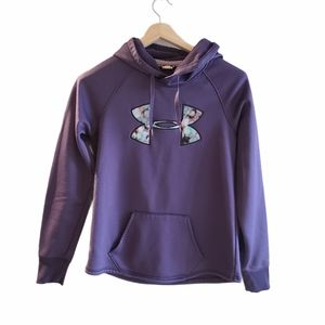 Purple Under Armour pullover sweater,  small